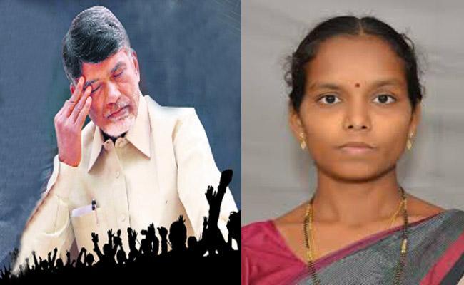 TDP Leaders Not Accepting YSRCP Defected MLA Vantala Rajeshwari - Sakshi