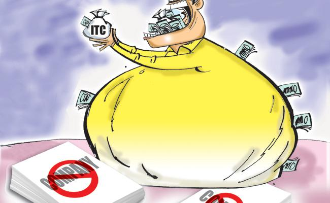 Company Of TDP Did Fraud In GST - Sakshi