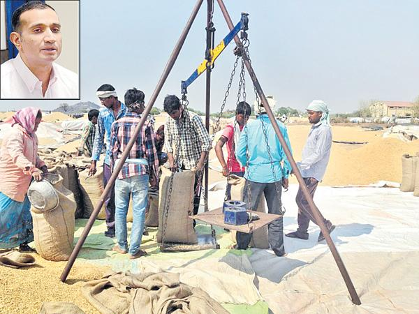 Preparations of civil supplies department For yasangi grain purchases - Sakshi