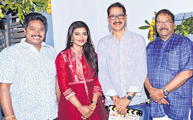 Kausalya Krishnamurthy Cricketer Movie Opening - Sakshi