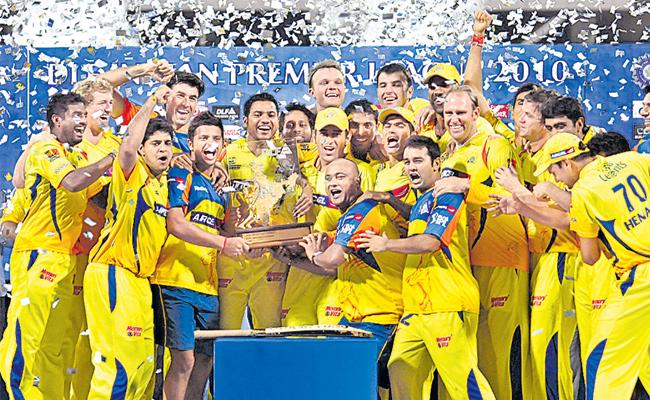 Chennai Super Kings was the winner of the first time in 2010 - Sakshi