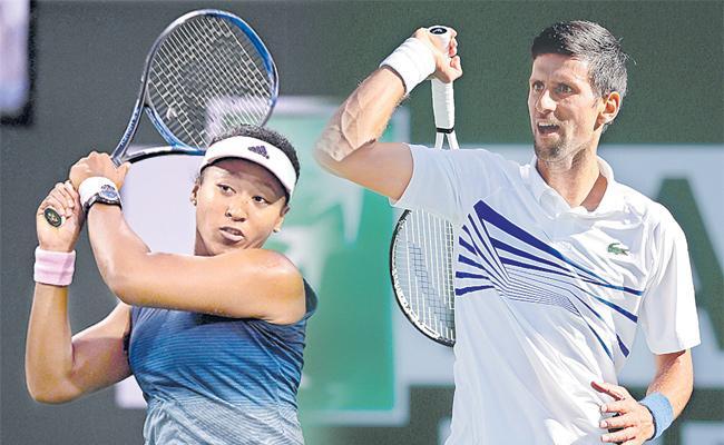 Novak Djokovic, Naomi Osaka and Simona Halep all knocked out on day of upsets at Indian Wells - Sakshi