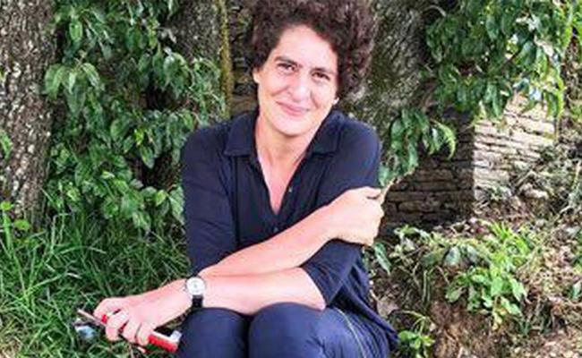 Priyanka Gandhi Changes Her Twitter Picture And Sparks A discussion - Sakshi