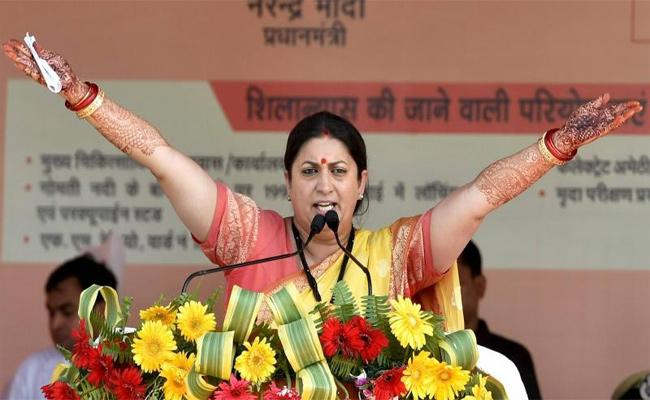 Smriti Irani Profile of Actress cum Politician - Sakshi