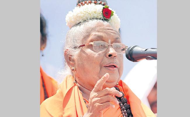 Mata Mahadevi passes away - Sakshi
