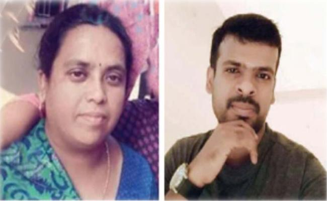Mother And Son Died in Car Accident Tamil Nadu - Sakshi