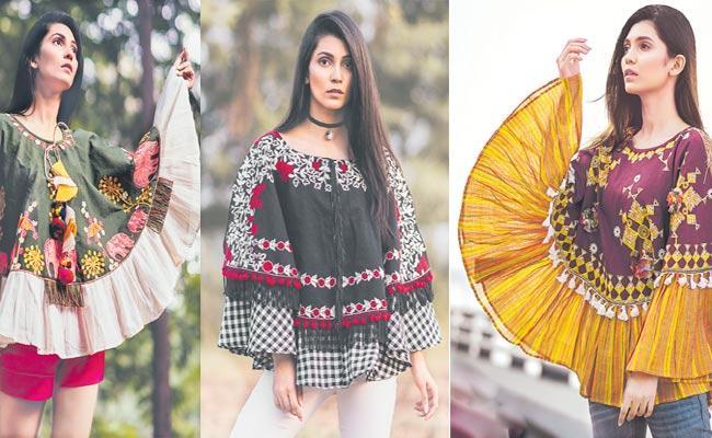 Tops made with 100 Percent Khadi Fabric - Sakshi