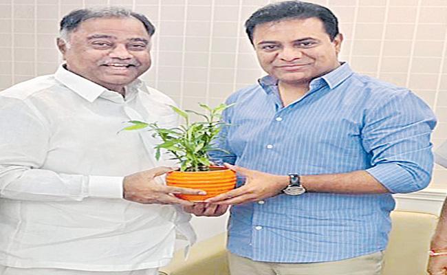 Kandala Upender Reddy Join In TRS Party - Sakshi