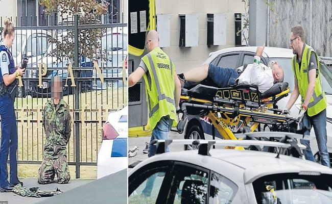 Terrorists kill 49 in an attack on mosques in New Zealand - Sakshi