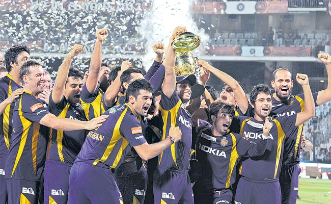 Kolkata Knight Riders, which was the winner of IPL 2012 - Sakshi