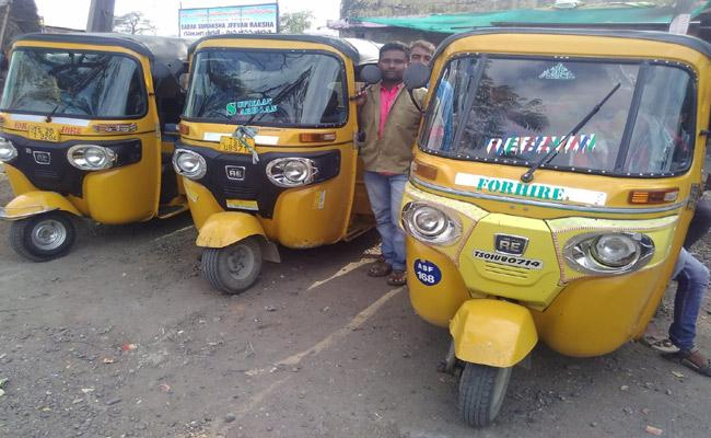 Increase In Diesel Price Effecting  On Auto Drivers - Sakshi