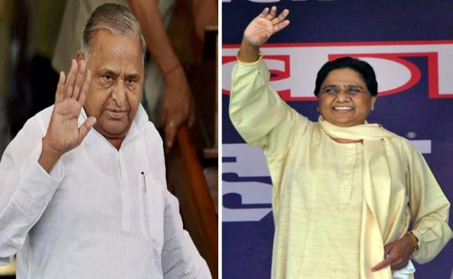 Mayawati to campaign for Mulayam after two Dacades - Sakshi