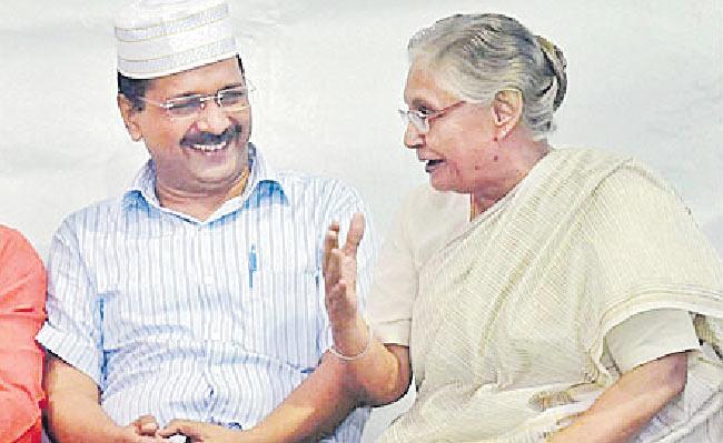 AAP-Congress alliance in Delhi - Sakshi