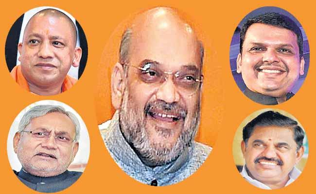 BJP Will Focus Mainly Five States To Get Into Power - Sakshi