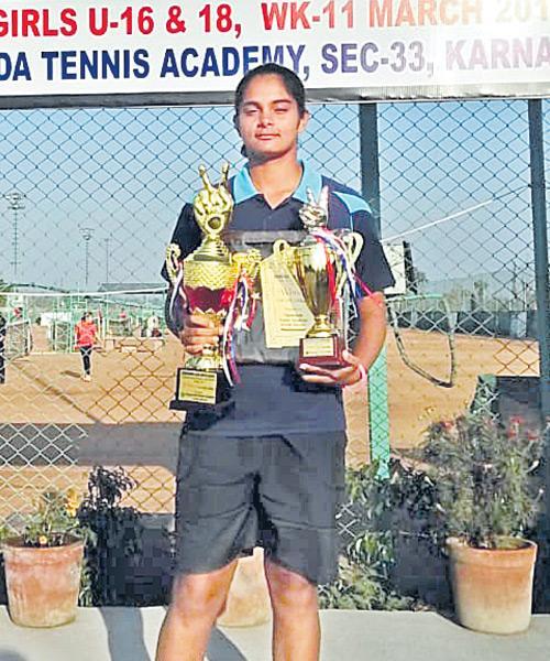 Sanjana Gets Double Dhamaka - Sakshi