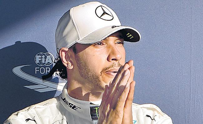 Lewis Hamilton claims Australian Grand Prix pole as Mercedes shine - Sakshi