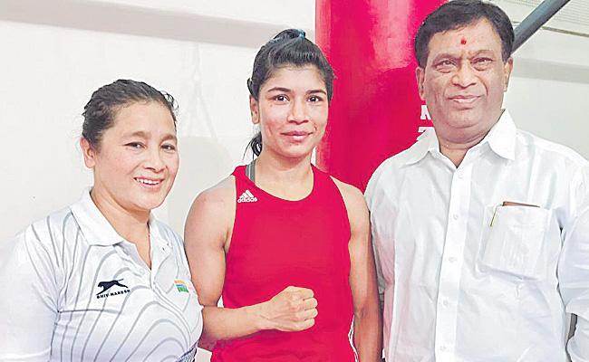 Nikhat to Asian boxing tournaments - Sakshi