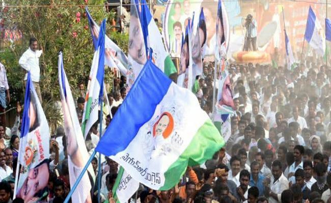 Celebrations Over YSR Congress Party Candidates List - Sakshi