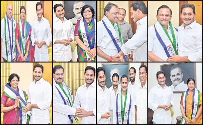YSR Congress Party Is In Full Josh With Many Leaders Joining - Sakshi