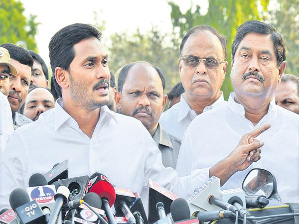 YS Jagan complains to Governor about YS Viveka Murder Case - Sakshi