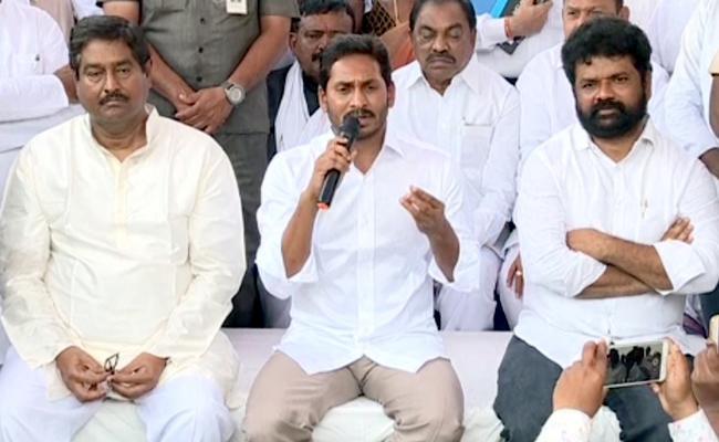 YS Jagan Critics Chandrababu Over Ticket Allocation For Backward Classes - Sakshi