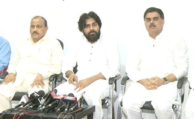 Jana Sena Party confirms 21 Assembly Seats For BSP - Sakshi