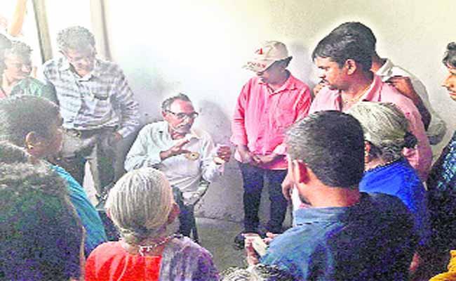Complaint for Pension money - Sakshi