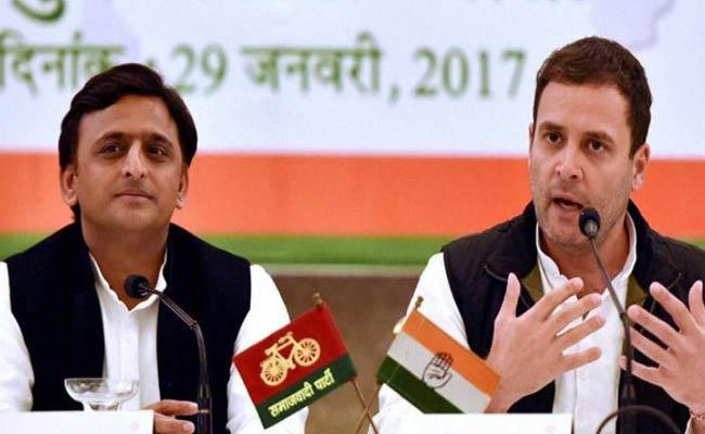 Congress Leave seven Seats For Akhilesh Yadav And Mayawati Alliance - Sakshi