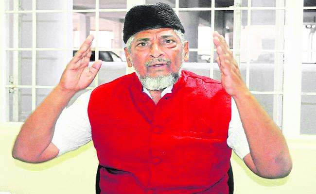 The AP Muslim Council President Said That Corruption Can Not be Forgiven Chandra Babu - Sakshi