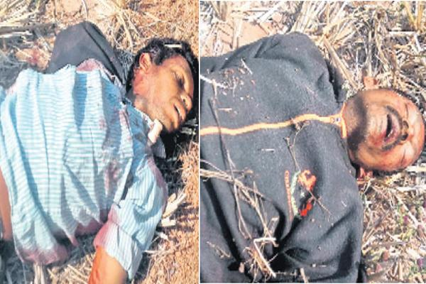 Two Tribals killed in police firing - Sakshi