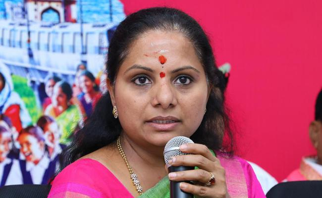 TRS MP Kavitha Critisize Congress And BJP - Sakshi