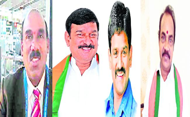 BJP Leaders Assembly Candidates List Visakhapatnam - Sakshi