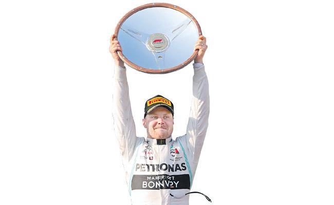 Valtteri Bottas wins Australian Grand Prix for Mercedes - Sakshi