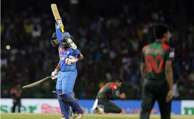 On This Day Dinesh Karthik Last Ball Heroics Give India Stun Bangladesh - Sakshi