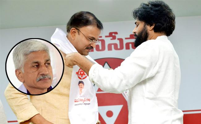 YSRCP MP Vijayasai Reddy Satires On Lakshmi Narayana Joins Janasena - Sakshi