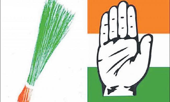 No alliance with Congress in Delhi - Sakshi