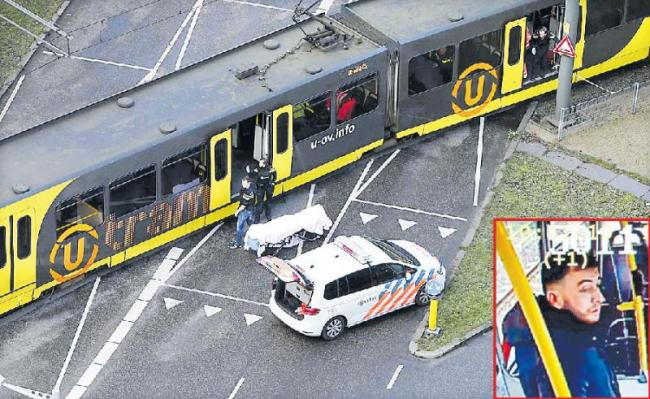 3 Dead, 9 Injured in Dutch Tram Shooting - Sakshi