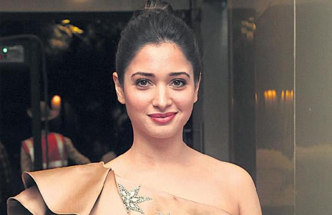 Tamanna says comfortable working with director Sajid Khan - Sakshi