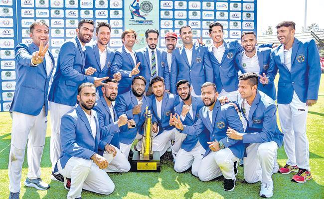 Afghanistan beats Ireland for maiden Test win  - Sakshi