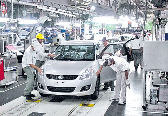Maruti Suzuki share slips 4% on reports of production cut - Sakshi