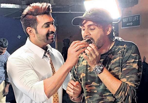 Arun Vijay in Prabhas Sahoo Movie - Sakshi