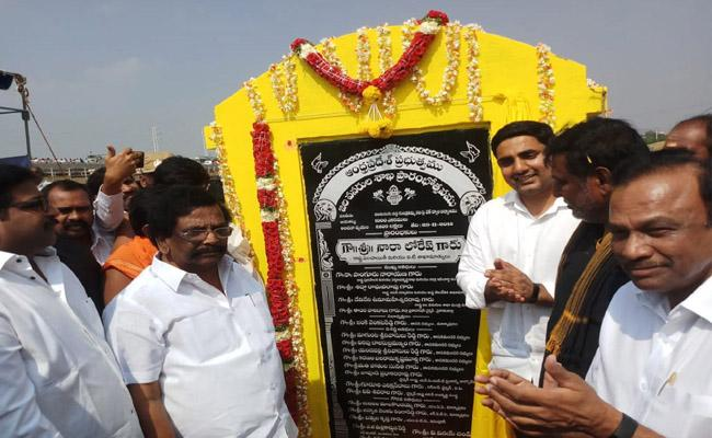 TDP Government Failed To Complete Pedda Nagulavaram Check Dam - Sakshi