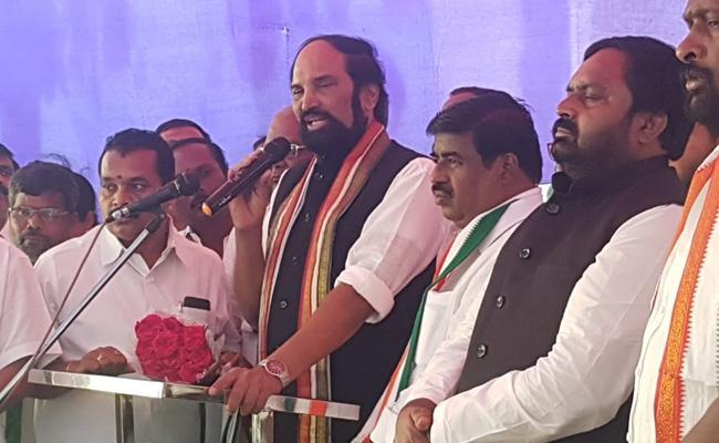 Uttam Kumar Reddy Says We Will Win In MLC Elections - Sakshi
