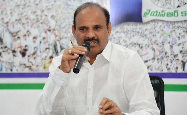 YSRCP Leader Parthasarathy Slams TDP Government - Sakshi