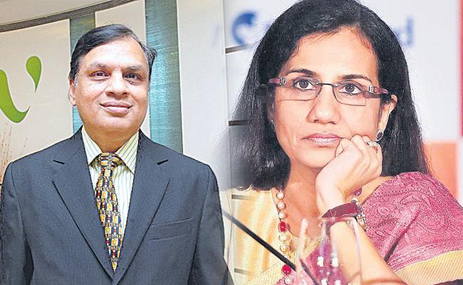 Chanda Kochhar, Videocon Venugopal Dhoot Homes Searched In Loan Case - Sakshi