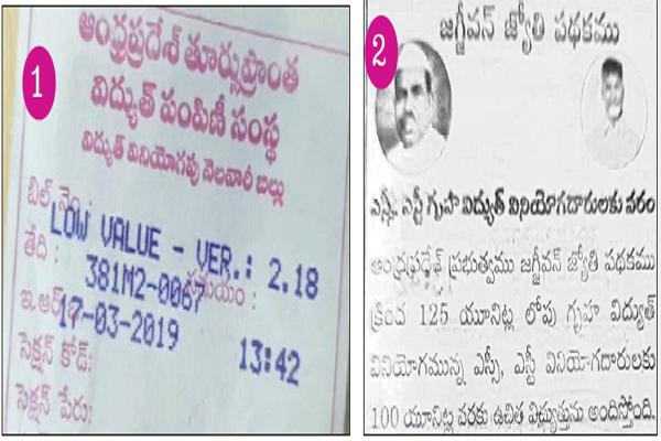 Election Code Violation by Power distribution company officials - Sakshi