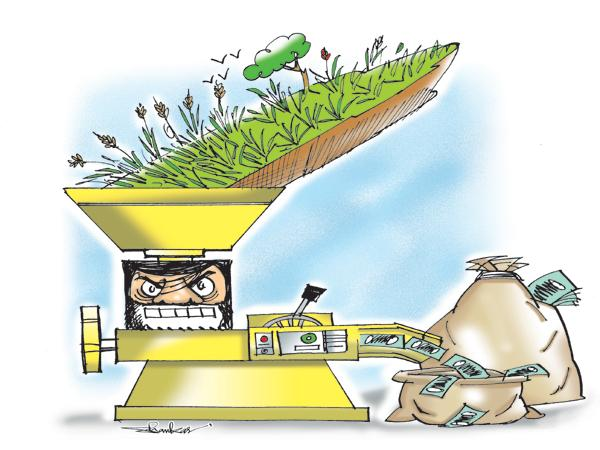 Government Business With the farmers sacrifice - Sakshi