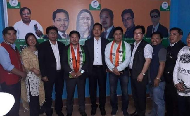 Two BJP Arunachal Ministers Quit Party, Join Conrad Sangma NPP - Sakshi