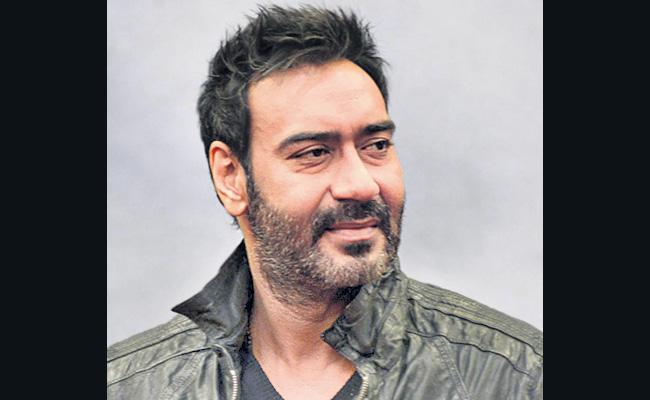 Ajay Devgn is a freedom fighter - Sakshi