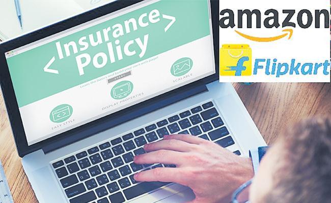 Amazon India, Flipkart preparing to enter online insurance - Sakshi